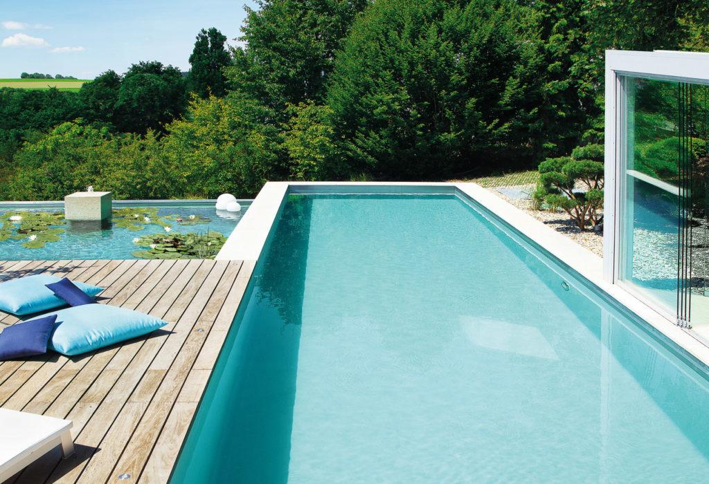 Biotop Living Pool mit Pflanzbereich