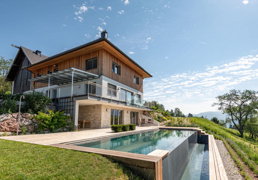Living Pool im Garten - FREIRAUM