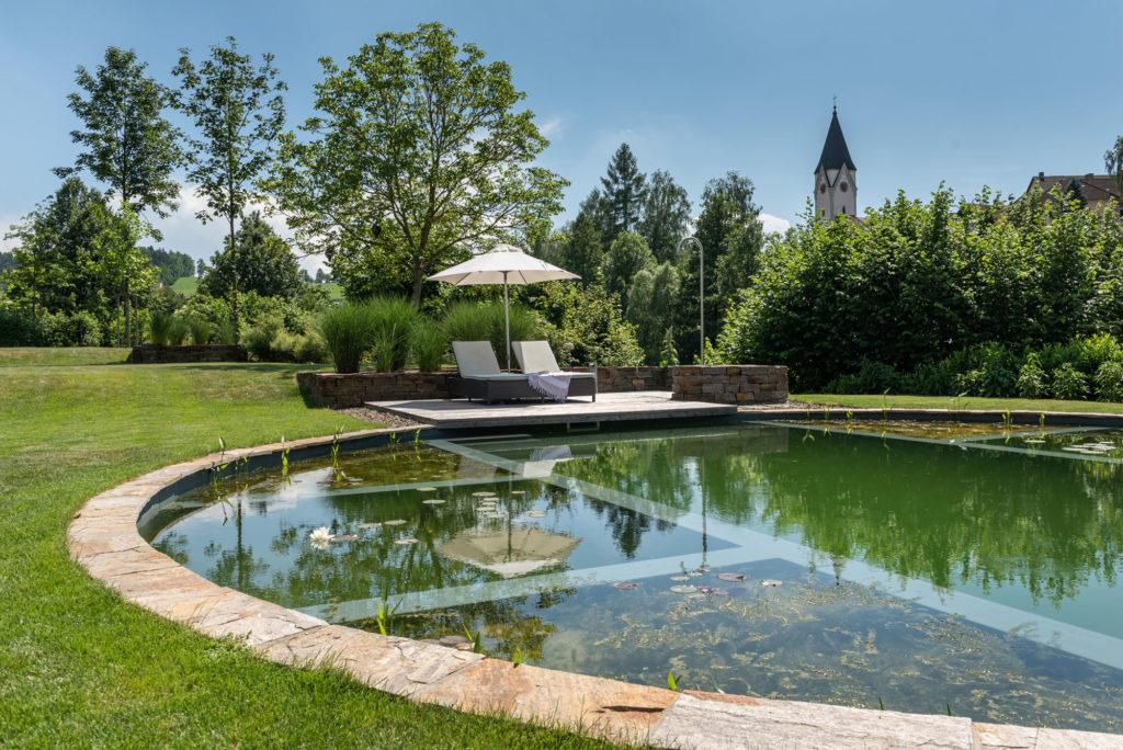 FREIRAUM Terrasse am Swimming Pond