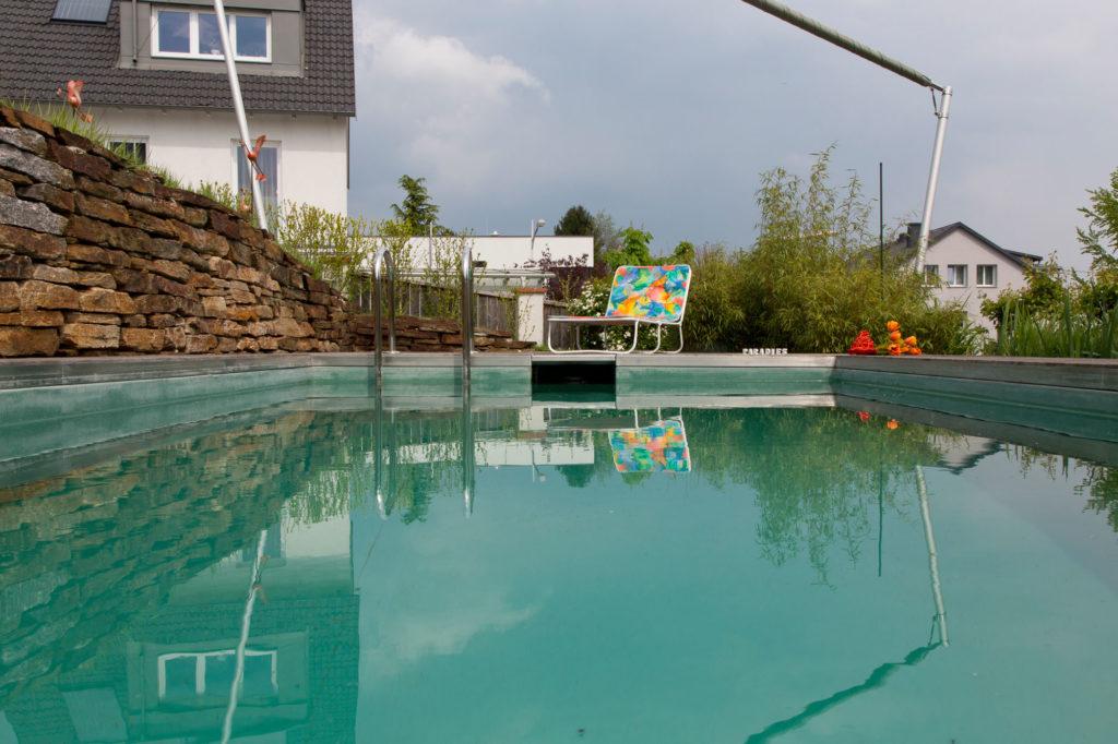 FREIRAUM Pool mit Skimmerbecken