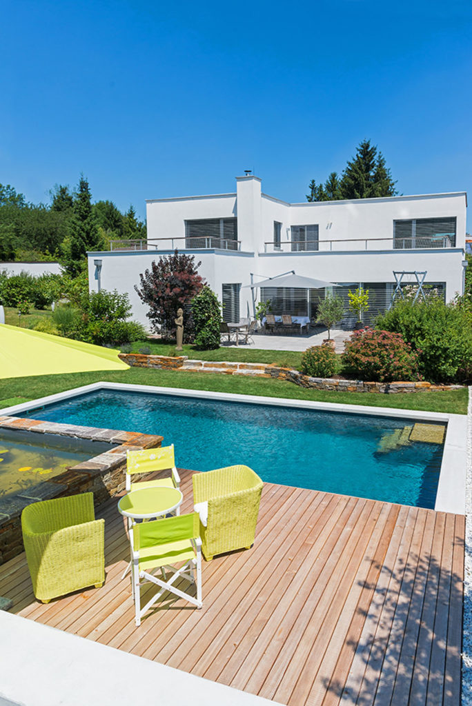 FREIRAUM Living Pool Terrasse