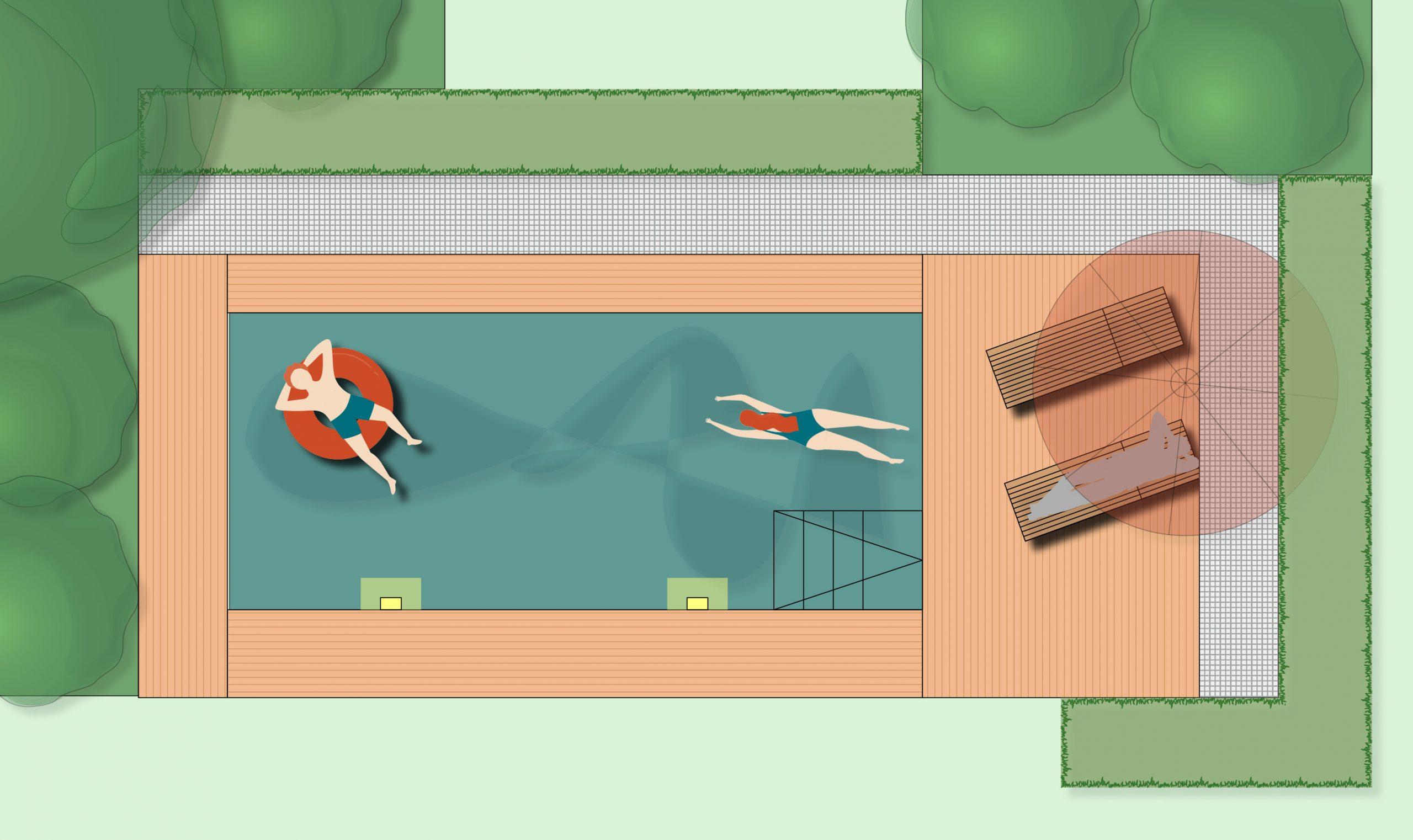 Living Pool = Urlaubsfeeling