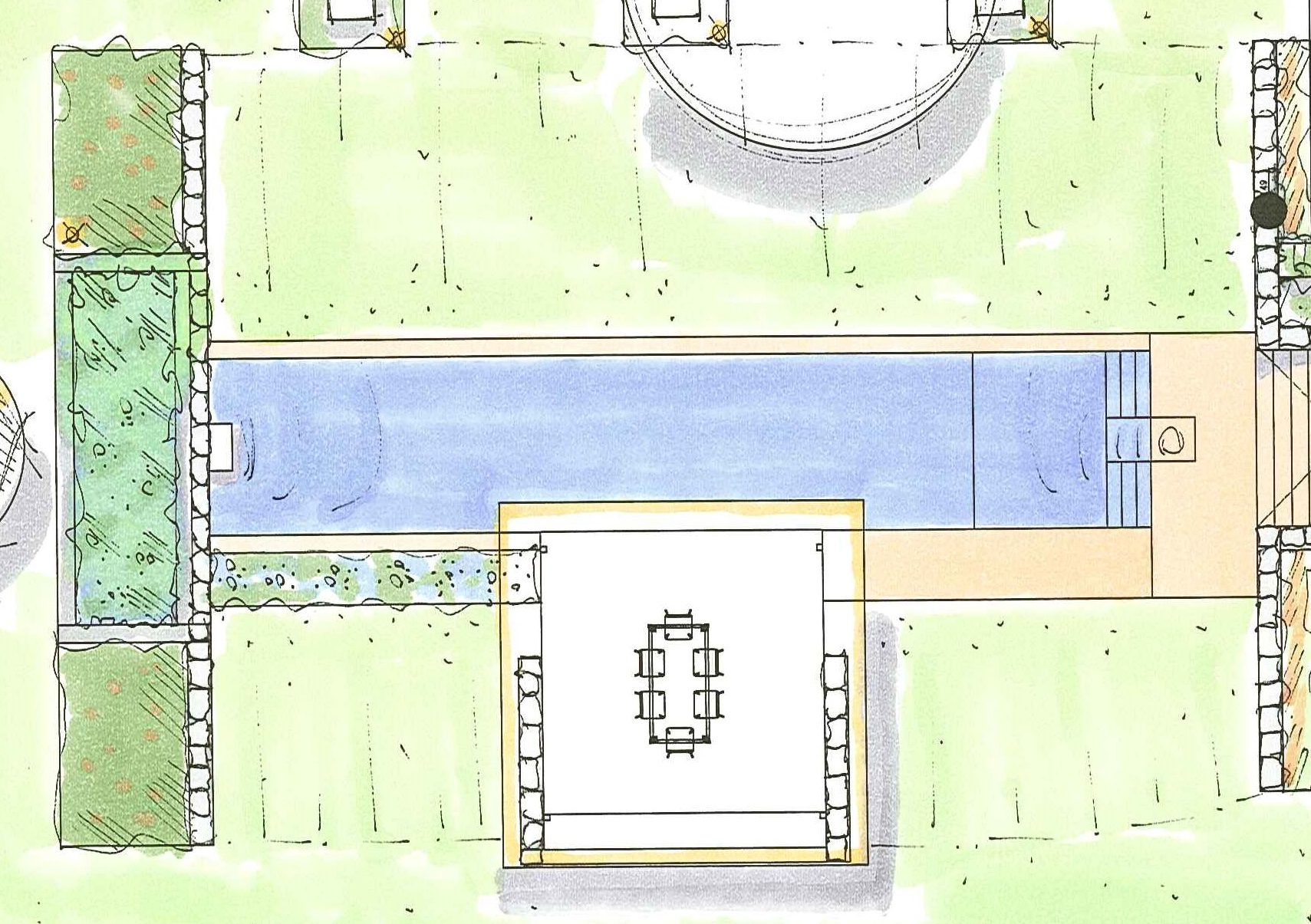 Living Pool Planung